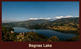 Begnas Lake is a freshwater lake in Kaski district of Nepal located south-east of Pokhara city.