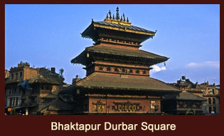 Bhaktapur Durbar Square, an ancient yet fascinating palatial square in the historic city of Bhaktapur, Nepal.