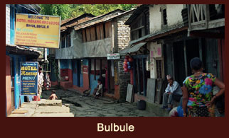 Bulbule, an enticing settlement in the Annapurna region of Nepal.