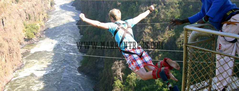 Bungy Jumping an adrenaline adventure in Nepal.