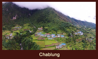 Chablung/ Chheplung, a settlement in the Everest region of Nepal, highly dependent on the revenues collected from the trekkers.