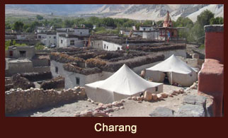 Charang, a small settlement in the Annapurna region of Nepal.