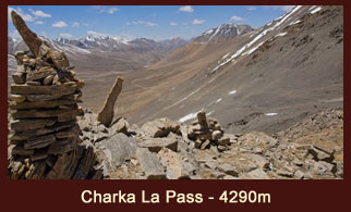 Charka La Pass (4290m), one of the high elevation passes in the far western region of Nepal.