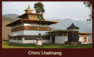 Chimi Lhakhang, also known as Chime Lhakhang is a Buddhist monastery in Punakha District, Bhutan.