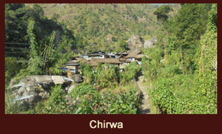 Chirwa, a settlement in the Kanchenjunga region of Nepal.
