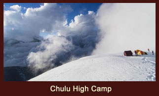 Chulu High Camp (5100m), Annapurna Region, Nepal.