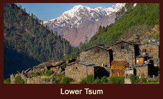 Lower Tsum, also known as Chumling is a beautiful valley in the Annapurna region of Nepal.