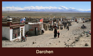 Darchen, also known as Tarchen is a small village in the Purang County of Tibet.