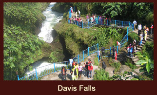 Davis Falls is a waterfall located at Pokhara in Kaski District, Nepal.