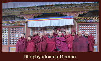 Dhephyudonma Gompa, located in the Tsum Valley, Annaapurna region, Nepal is an ancient monastery that signifies the dawn of Buddhism.
