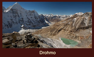 Drohmo, an exclusive vantage point in the Kanchenjunga region of Nepal.