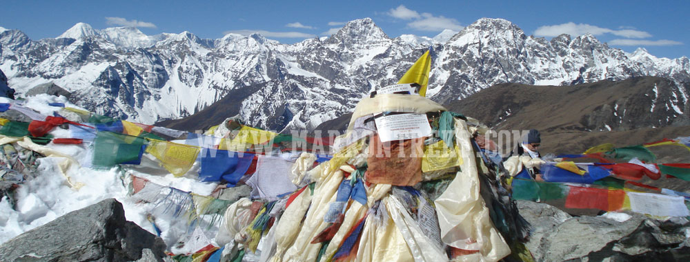Everest Three High Pass, Everest Region, Nepal.