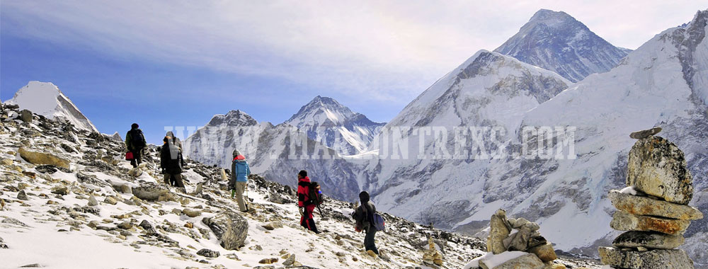 Phaplu to Everest Base Camp Trek, Everest region, Nepal.