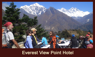 Everest View Point Hotel, a one of its kind hotel in the Everest region of Nepal, regarded as the world's highest elevation hotel.