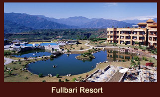 Fulbari Resort, one of the luxury five star oasis in Pokhara, Nepal, situated at the backdrop of fascinating Himalayas.