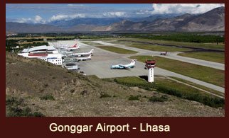 Lhasa Gonggar Airport is the airport serving Lhasa, the capital city of the Tibet Autonomous Region, China.