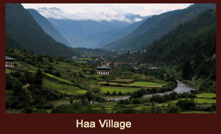 The Haa valley is one of the most exotic place to visit in Bhutan.