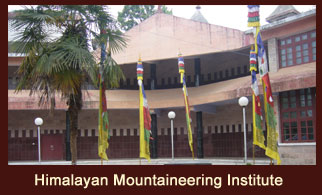 The Himalayan Mountaineering Institute in Darjeeling, India houses the Everest Museum, Natural History Museum and exhibits a splendid display of Himalayan wildlife.