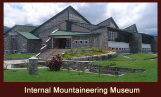 The International Mountain Museum is located in Pokhara, Nepal.