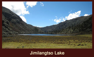 Jimilangtso Lake in Bhutan is at a distance of 10 kms from Jangchulakha.