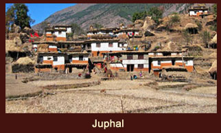 Juphal is a village development committee in Dolpo District in the Karnali Zone of north-western Nepal.