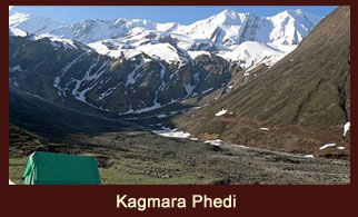 Kagmara Phedi, the base of the mountain pass,  'Kagmara La', in the far western region of Nepal.