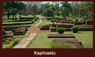 Kapilvastu, the ancient Kingdom of the Shakya clan in Nepal, belonging to Lord Buddha.