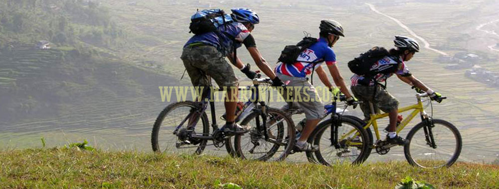 The Kathmandu Valley Rim Mountain Biking or Around Kathmandu Mountain Biking Tour in Nepal is an excellent retreat.