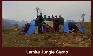 Lamite Jungle Camp is a wonderful campsite in the Lamite Forest of Kanchenjunga region, Nepal.