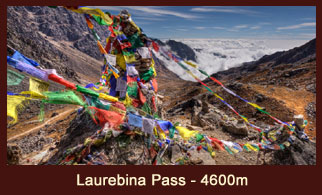 Gosaikunda Pass, also known as the 'Laurebina Pass' is one of the popular passes in the Langtang region of Nepal.