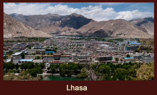 Lhasa is the administrative capital of Tibet.