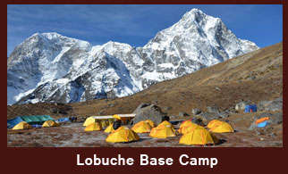 Lobuche Base Camp, Everest Region, Nepal.