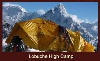 Lobuche High Camp, Everest Region, Nepal.