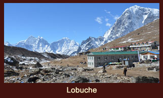 Lobuche is a small settlement near Mount Everest in the Khumbu region of Nepal.