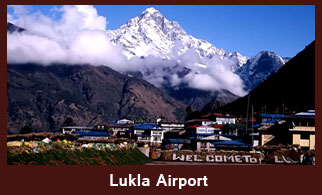 Lukla Airport, Everest Region, Nepal.