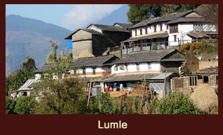 Lumle, a lovely little town in the Kaski district of Nepal.