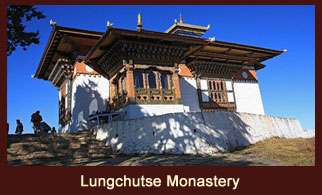Lungchutse Monastery is a small monastery and retreat center in Bhutan.