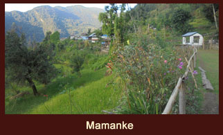 Mamanke, a village in the Kanchenjunga region of Nepal that offers great views of Mt. Jannu (7710m).