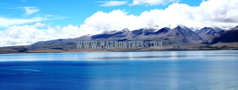 The Manasarovar Lake in Tibet carries immense holy significance.