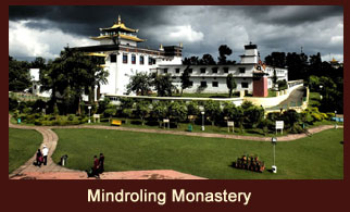 Mindroling Monastery is one of the six major monasteries of the Nyingma School in Tibet.