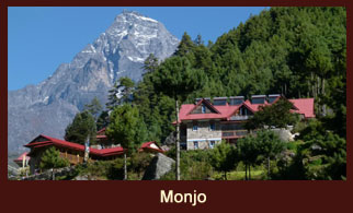Monjo, a beautiful and tranquil settlement in the Everest region of Nepal.