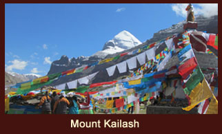 Mount kailash (6714m), a holy mountain located in Tibet.