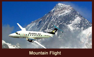 The Everest Mountain Flight in Nepal offers jaw-dropping views of Mt. Everest and surrounding peaks.