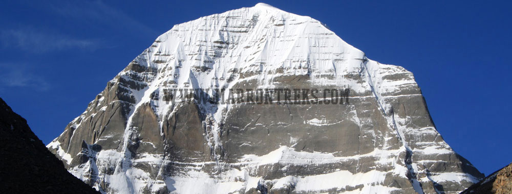 Mount Kailash, a mountain in Tibet, which carries utmost holy significance.