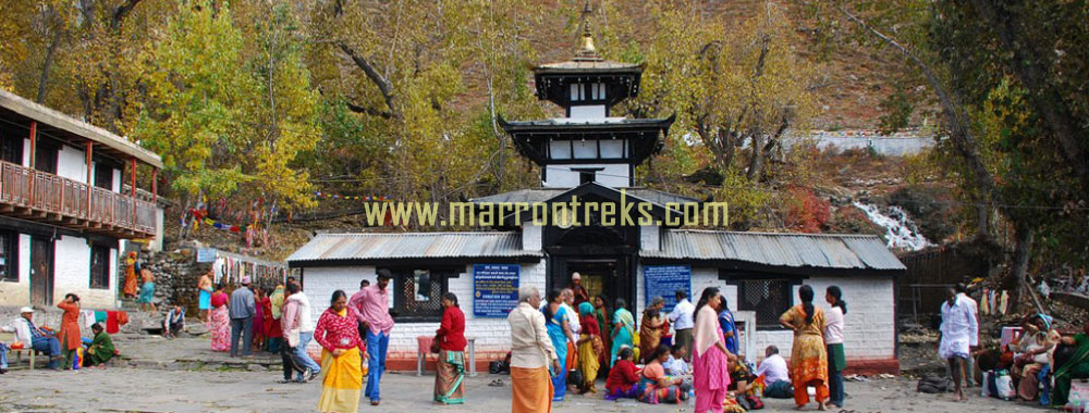 Jomsom Muktinath Treks encapsulates the world's deepest gorge of the Kali Gandaki River, the charisma of Jomsom and the pious milieu of Muktinath- one of the most revered pilgrimage sites for Buddhists and Hindus.