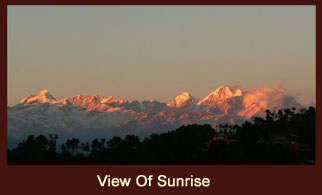 Nagarkot, a beautiful hill station near Kathmandu, Nepal.