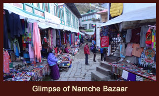 Namche Bazaar, Everest Region, Nepal.