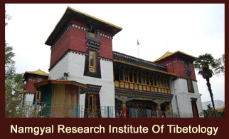 The Namgyal Research Institute of Tibetology is a world-renowned research centre for Tibetan Buddhism and is well stocked with rare books and manuscripts on Buddhism.