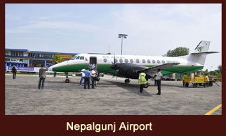 Nepalgunj, the western region hub of Nepal, which borders the Indian state of Uttar Pradesh to the South.
