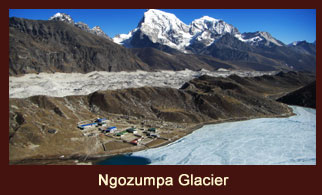 Ngozumpa Glacier, Everest region, Nepal.